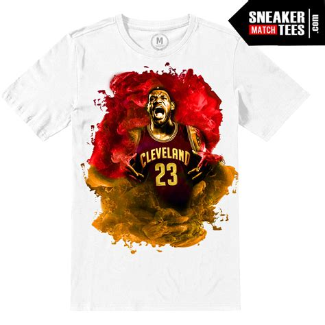 Tshirt Nike Lebron Limited lebron cavs t shirt nba finals sneaker match tees