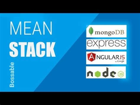 tutorial video meaning bossable com mean stack tutorial getting started for