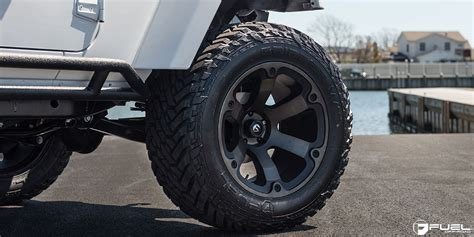 Jeep Wrangler Fuel Wheels This Jeep Wrangler With Fuel Wheels Is A Beast Literally