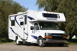 motor home rental vacation rv rentals class c 25 foot rv rental