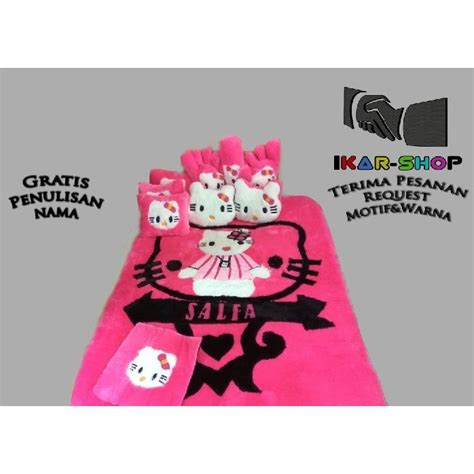 Karpet Karakter Original jual karpet karakter ultraman mode printing standard set