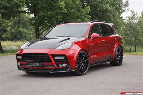 mansory porsche official mansory porsche cayenne turbo and turbo s gtspirit