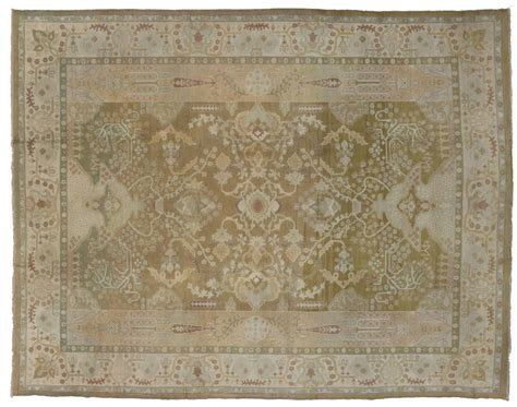 Antique Indian Agra Area Rug In Neutral Colors 09 09 Quot X Neutral Color Area Rugs