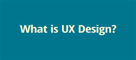 ux design definition five minutes to understand the user experience definition