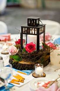 wedding centerpiece lantern my wood slice lantern centerpieces weddingbee photo gallery