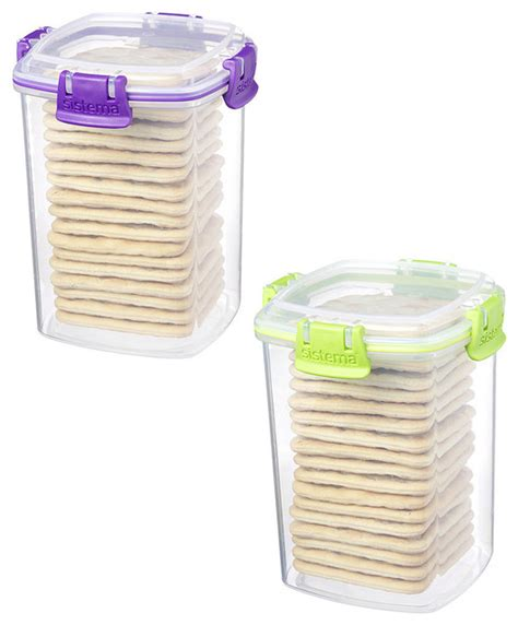 green food storage containers green purple cracker container set contemporary food