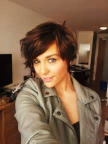 As you can see in the picture the girl portrays a pretty pixie cut