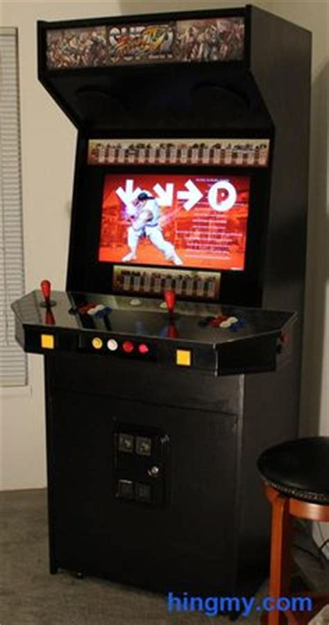 build your own arcade cabinet uk all of the screw holes were filled using wood filler and