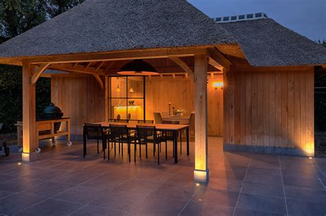 Poolhouse Lombre Be Exclusieve Verlichting