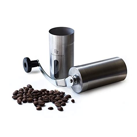 Ceramic Manual Handy Coffee Grinder brillante manual coffee grinder superior burr design for consistently brewing espresso pour