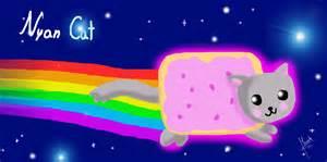 Nyan Cat I Drew The Nyan Cat Nyan Cat Fan 25773439 Fanpop