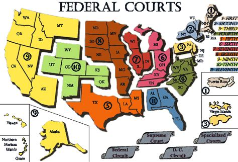 united states circuit courts map understanding the united states federal court structure