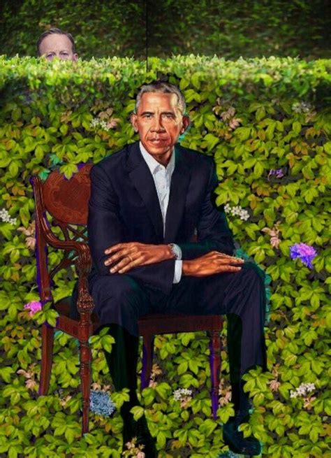 sean spicer obama portrait 7 obama portraits that didn t make the cut page 5 of 8