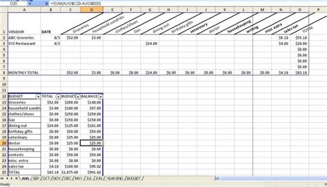 Budgeting Spreadsheet Hallee The Homemaker My Budget Excel Template