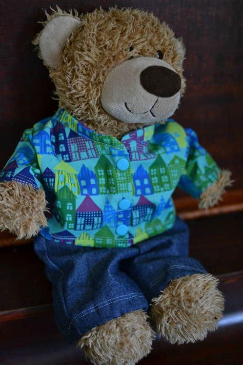 shirt pattern for teddy bear handmade gifts for boys day 4 teddy bear dress up