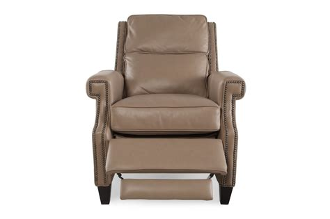 Bernhardt Leather Recliner by Bernhardt Leather Barrett Recliner Mathis Brothers Furniture