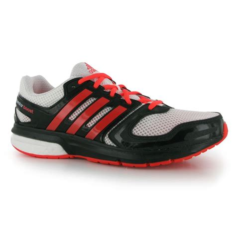 adidas questar boost running shoes mens white black trainers sneakers ebay