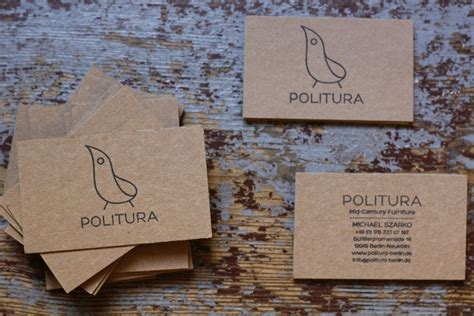 Visitenkarten Naturpapier by Sch 246 Ne Projekte Auf Naturpapier Page