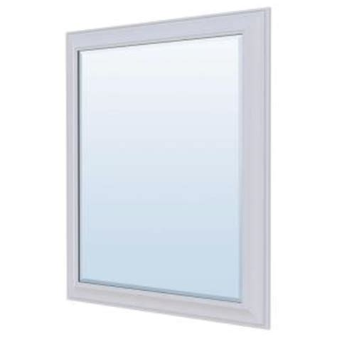 bathroom wall mirrors home depot masterbath 36 in l x 30 in w wall mirror in satin white