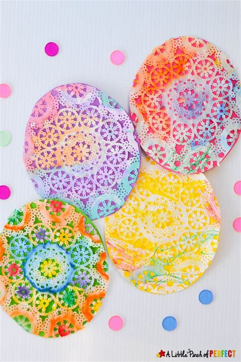 Paper Doily Crafts For - best 25 paper doily crafts ideas on paper