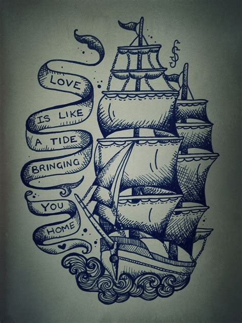 tattoo from love boat love boat quotes quotesgram