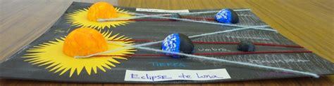 como hacer una maqueta del ecplise solar y lunar mis impresiones hechas fotos maqueta eclipses sol y luna