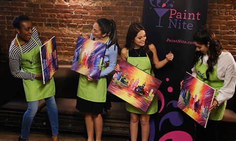 paint nite kc paint nite up to 46 miramar fl groupon