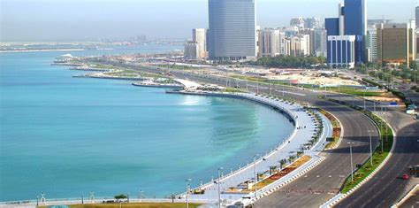corniche abu dhabi corniche road spreads across eight kilometres in abu dhabi