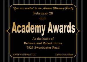 oscar invitation template award invitation template 14 free psd vector eps ai