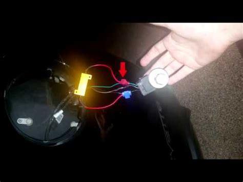 3157 led turn light install corvette c6 hyperflash