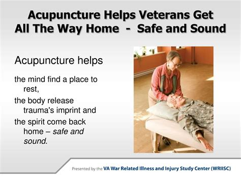 ppt integrative health care for veterans powerpoint