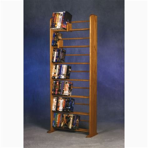 dvd racks model 705 vhs dvd storage rack