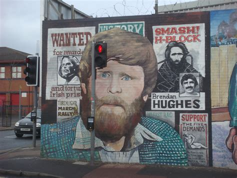 Painting Wall Murals belfast northern ireland the bombs and bullets tour
