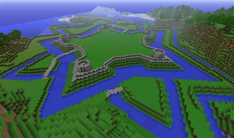 Castle Floor Plan by Star Fortress Minecraft