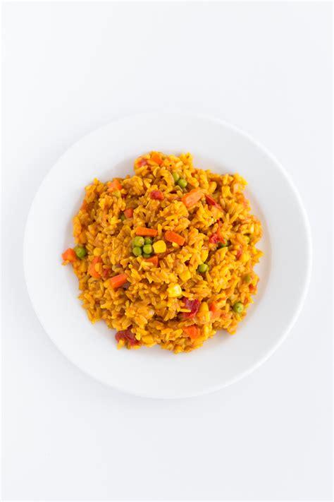 Garden Vegetable Rice Garden Vegetable Rice Simple Vegan