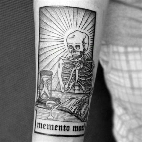 memento mori tattoo 60 memento mori designs for manly ink ideas