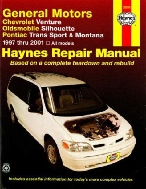 car repair manual download 1994 pontiac trans sport instrument cluster haynes gm chevrolet venture oldsmobile silhouette pontiac trans sport montana 1997 2001 auto