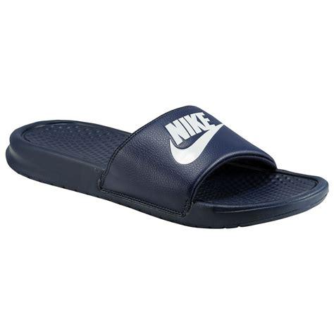 Sepatu Nike Just Do It Navy Slip On Asli Import nike benassi jdi mens navy slip on slides sandals shower