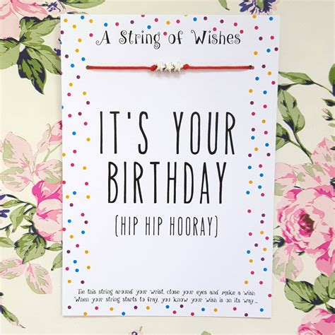 Brighton Gift Cards - birthday bracelet gift card by all things brighton beautiful notonthehighstreet com