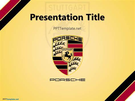 Free Porsche Ppt Template Logo Presentation Template