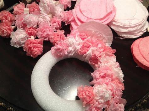 tissue paper flower wreath tutorial tissue paper wreath natalie bradley clever craft ideas