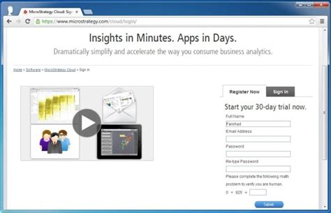 microstrategy cloud personal create dashboards from excel