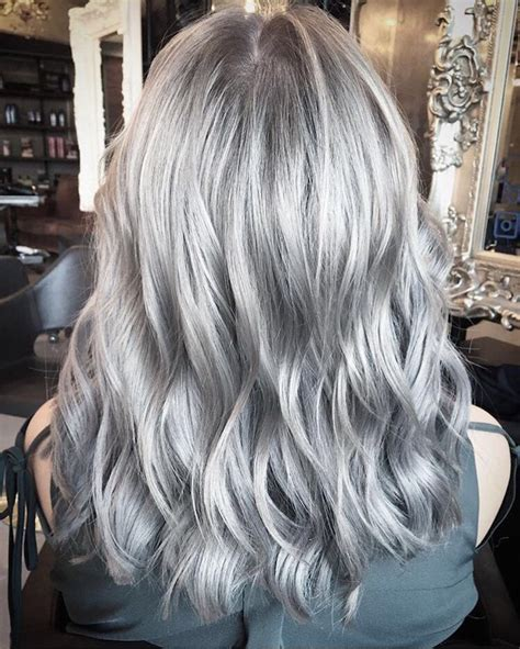 coloring hair gray trend name london hairdressers silver hair colour trend live true