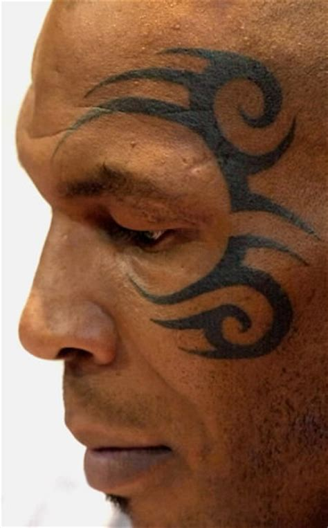 mike tyson tattoo meaning mike tyson s what the 171 the story the faces