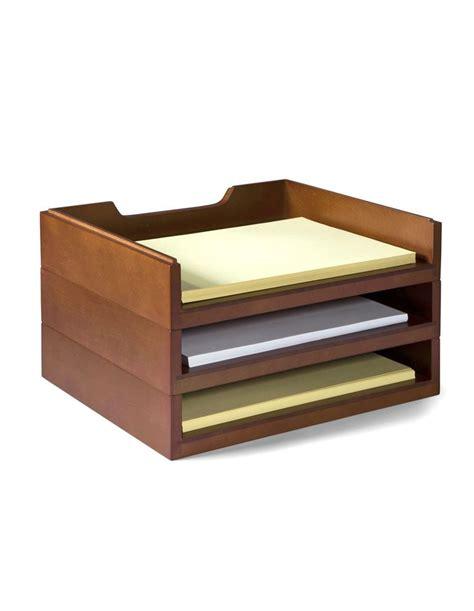 wood desk letter tray 13 best office stationary images on pinterest desks