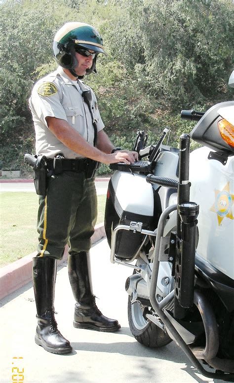 copp motors l a county sherriff s department motorcycle officers get