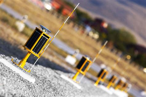 solar powered runway lights six key benefits of solar powered helipad lighting systems