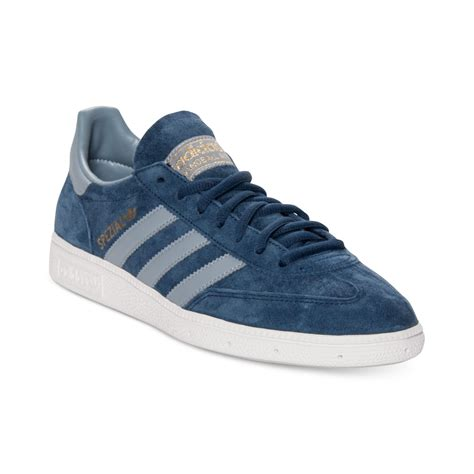 adidas men adidas spezial casual sneakers in blue for men blue light