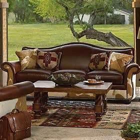 king ranch home decor king ranch bonanza sofa ranch house decor pinterest