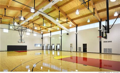 houses with indoor basketball courts for sale michael jordan selling home for 29 million basketball court 3 cnnmoney